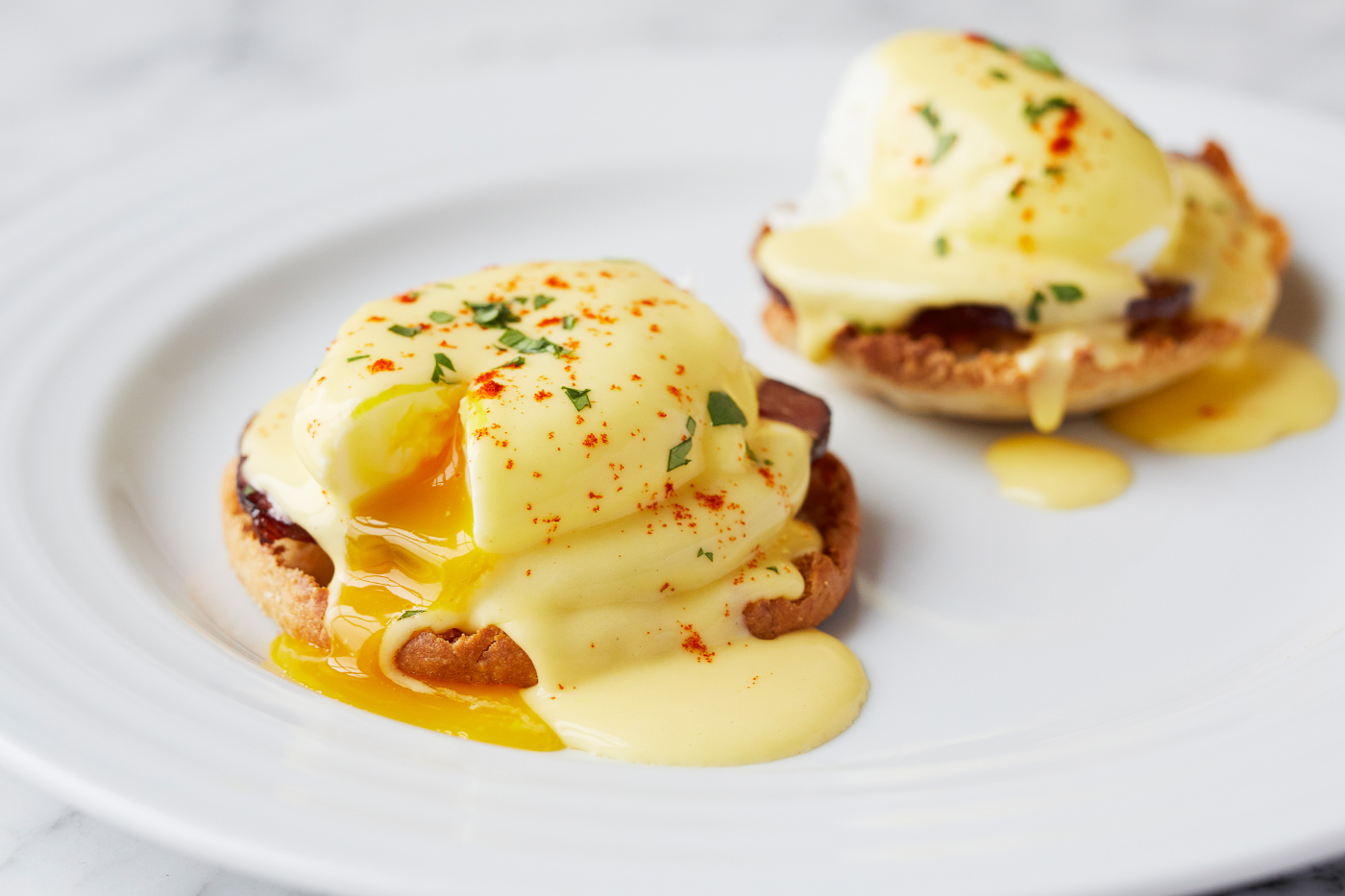 Make a breakfast worthy of kings and queens: Eggs Benedict